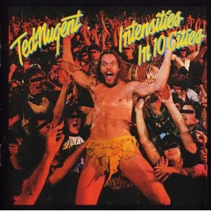 Ted Nugent Intensities in 10 Cities