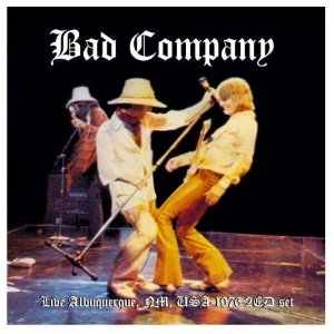 Bad Company Live in Albuquerque 1976