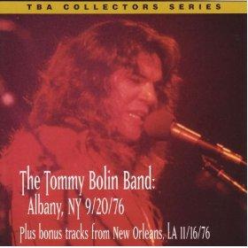 Tommy Bolin Live In Albany NY