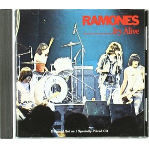 The Ramones It's Alive album cover