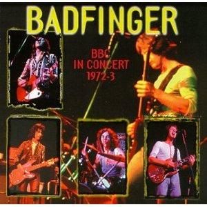 Badfinger BBC Live In Concert album cover