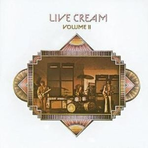Cream Live Cream Volume 2 album cover