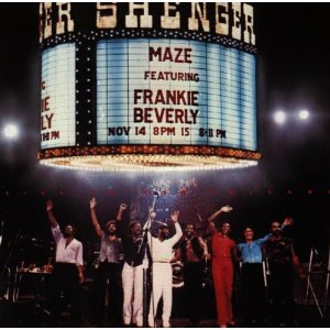 Maze Live In New Orleans album cover