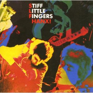 Stiff Little Fingers Hanx album cover