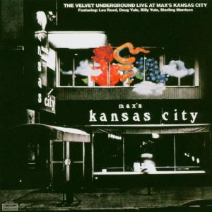 Velvet Underground Live at Max's Kansas City album cover