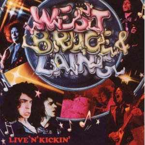 West, Bruce and Laing Live 'n' Kickin' album cover