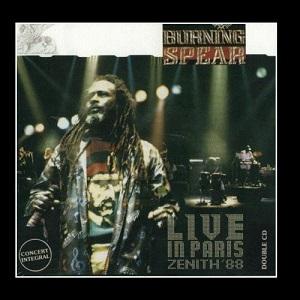 Burning Spear Live In Paris Zenith 88