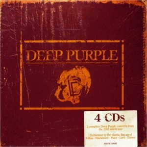 deep purple on tour live in europe 1993