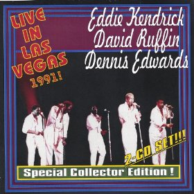 Eddie Kendrick David Ruffin & Dennis Edwards Live in Las Vegas 1991