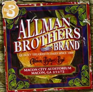 Allman Brothers Band Macon City Auditorium