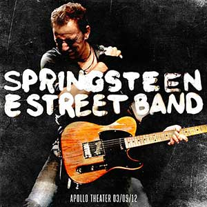Bruce Springsteen Apollo Theater New York, NY 2012