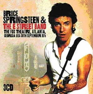 Bruce Springsteen The Fox Theatre Atlanta 1978