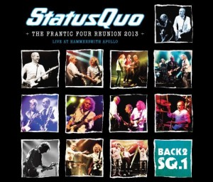 Status Quo The Frantic Four Reunion Live At The Hammersmith Apollo