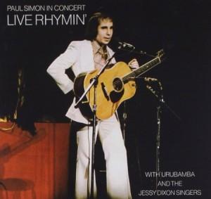 Paul Simon In Concert Live Rhymin' 1973/74