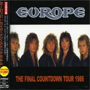 Europe The Final Countdown Tour 1986