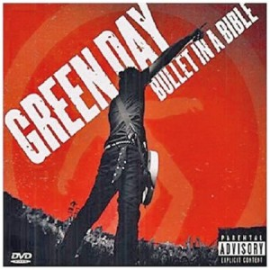 Green Day Bullet in a Bible