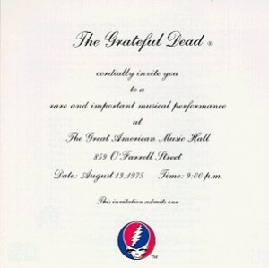 Grateful Dead One From The Vault