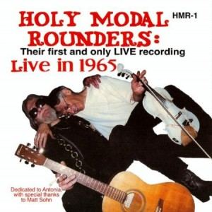 The Holy Modal Rounders Live in 1965 original cover
