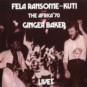 Fela Kuti Live With Ginger Baker 1970