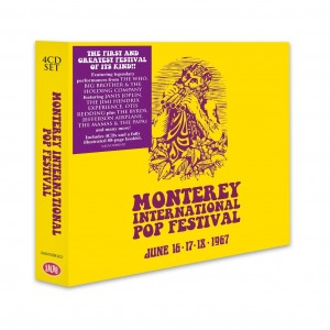 Monterey International Pop Festival (Box Set of 4 CDs)