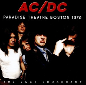 AC/DC Paradise Theatre Boston 1978