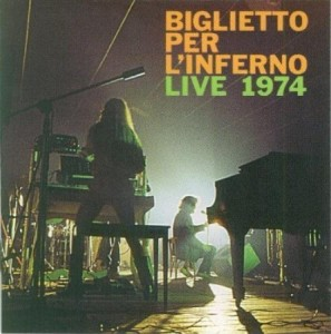 Biglietto per l'Inferno Live 1974