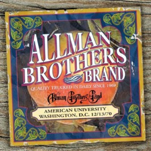 The Allman Brothers Band American University 12/13/70