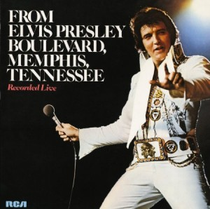 Elvis Presley From Elvis Presley Boulevard Memphis Tennessee