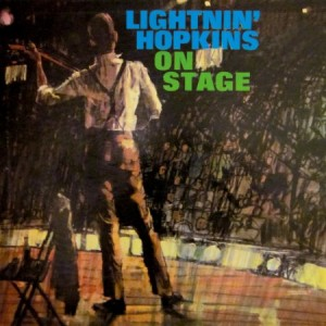 Lightnin' Hopkins on Stage