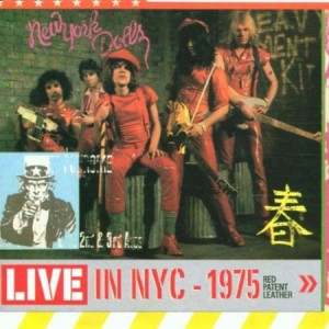 New York Dolls Red Patent Leather Live In NYC 1975