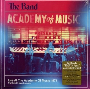 the band academy of music 1971