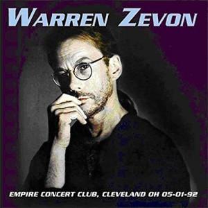 Warren Zevon Empire Concert Club Cleveland OH 05/01/92