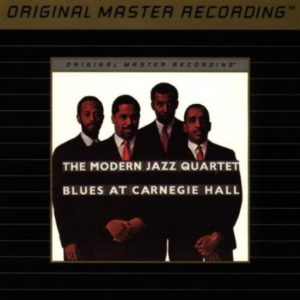 Modern Jazz Quartet Blues At Carnegie Hall