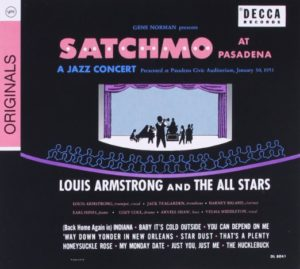 Louis Armstrong Satchmo At Pasadena